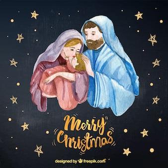 Фон сцены рождества
