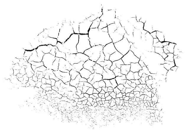 Естественный фон трещин