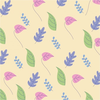 Natural cute colors flowers background
