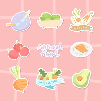 자연 식품 컬렉션