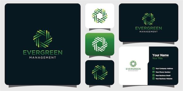 자연 잎 브랜드 로고