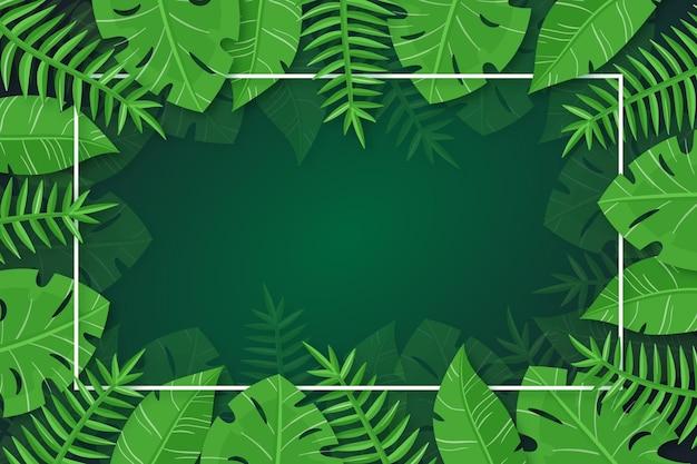 Натуральные листья фон