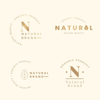 Natural logo sets