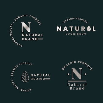 Natural logo sets