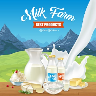Natural milk product
