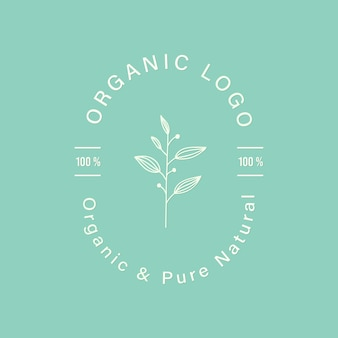 Natural and organic for branding and corporate identity