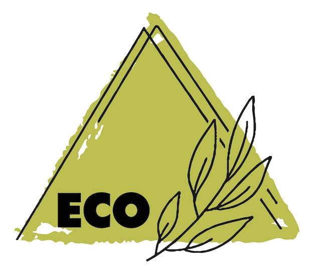 Natural and organic products eco and safe banner