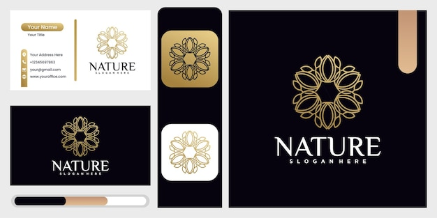 Шаблон вектора дизайна логотипа натуральных продуктов, красивый значок листа, шаблон дизайна логотипа природы с концепцией листа абстрактный зеленый символ листа для компании в стиле природы, красота с естественной концепцией