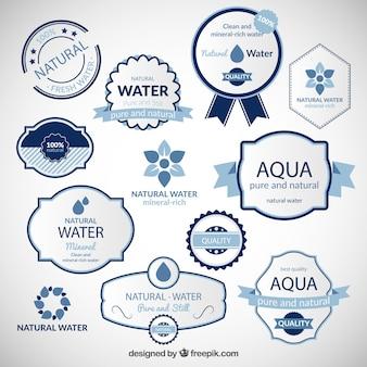 Natural water badges
