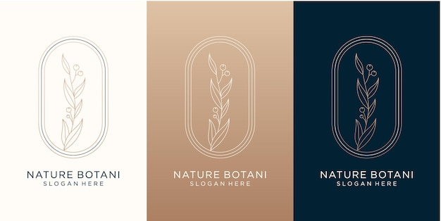 Nature and botanical logo design for your brand