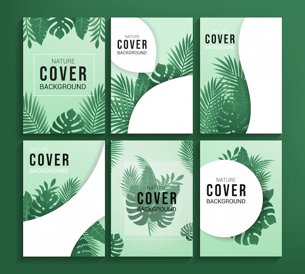 Nature cover background