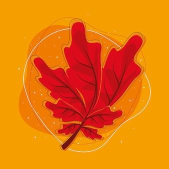 Природа сухой лист