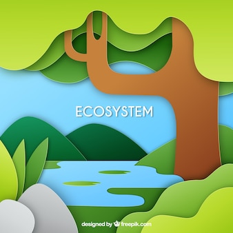 Nature and ecosystem concept