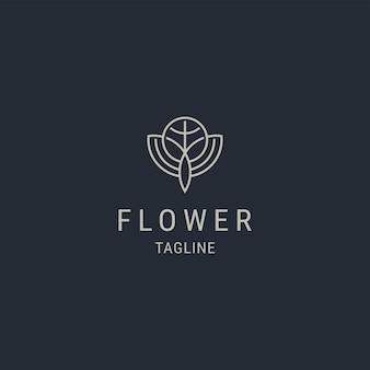 Nature flower premium logo template