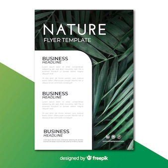 Nature flyer