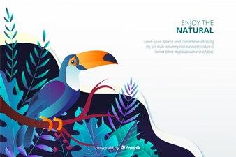 Nature Landing Page