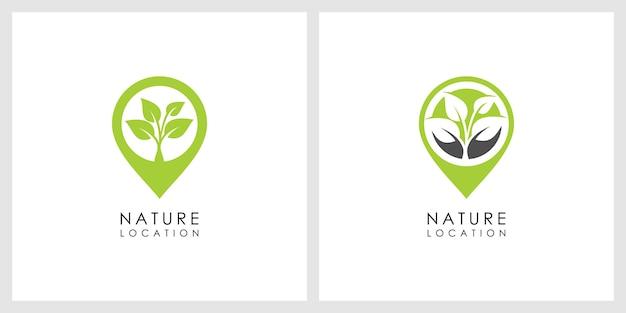 自然の場所のロゴ