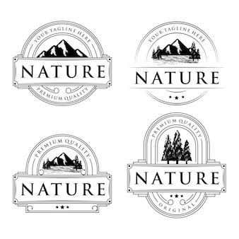Коллекция логотипов природы