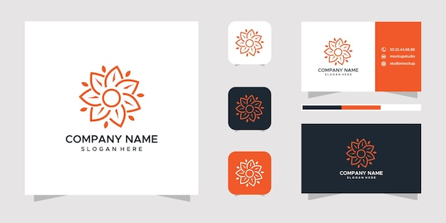자연 로고 디자인 및 명함.