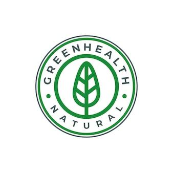 自然のロゴ