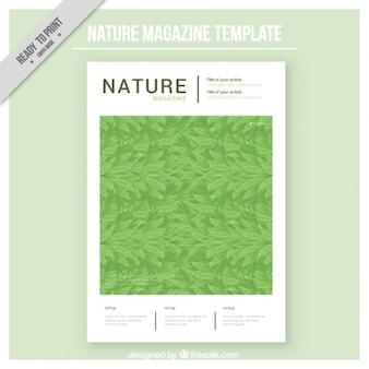 Природа шаблон обложки журнала