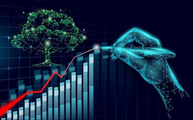 自然は地球を救うビジネスアイデアは利益のマーケティングを増やす