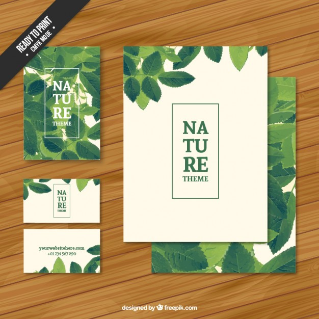 Nature stationery