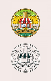 Nature store front badge