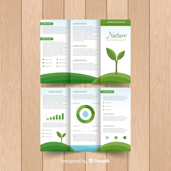 Nature trifold flyer