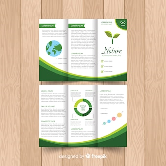 Nature trifold