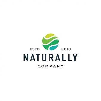 Nature wave logo