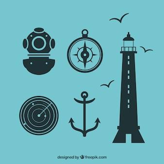 Nautic Icon Set