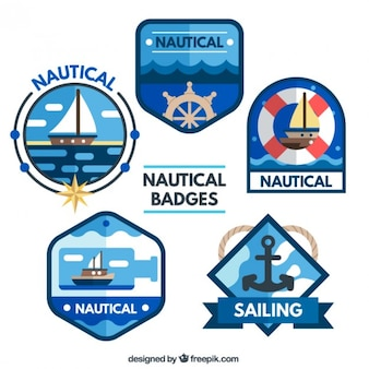 Nautical badges collection