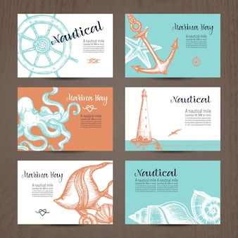 Nautical Card Set