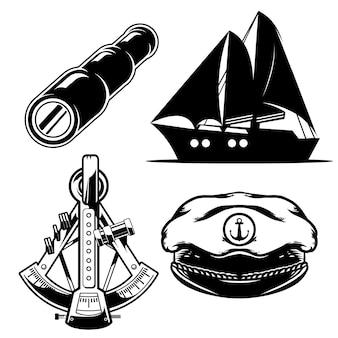 航海パック、手描きイラスト