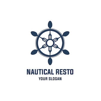 Nautical restaurant logo