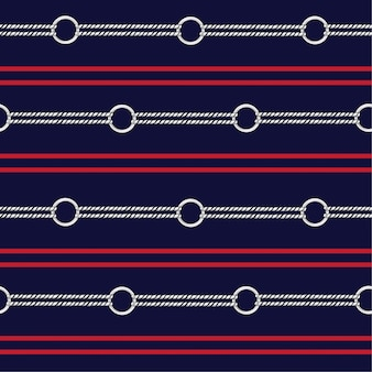 Nautical rope in herizontal stripe design for fashion,fabric,wallpaper,web and all prints