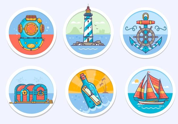 Морской, парусный морской и многое другое