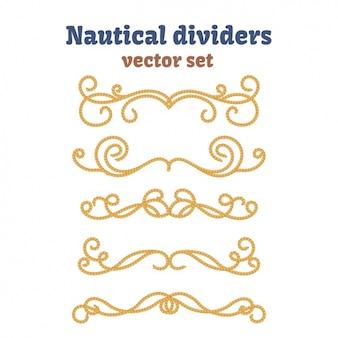 Коллекция nautical разделители
