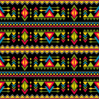 Navajo weaving fashion seamless vector pattern. vintage tribal art print of ethnic african endless background