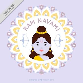 かわいいラムnavamiの背景