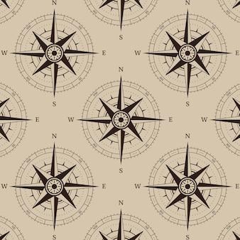 Навигационный компас бесшовный