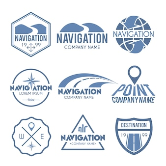 Navigation label grey