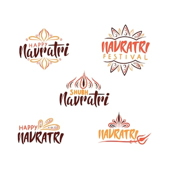 Navratri badges collection