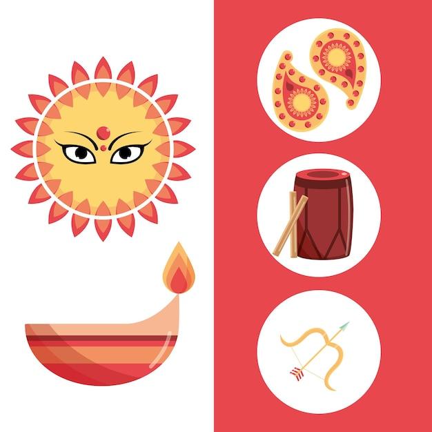 Наваратри индуистский набор