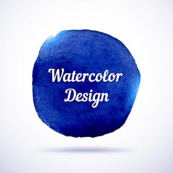 Navy blue watercolor design