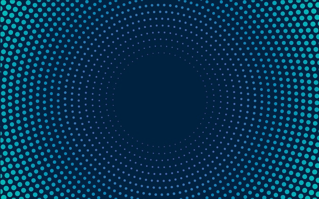 Navy gradient halftone background vector