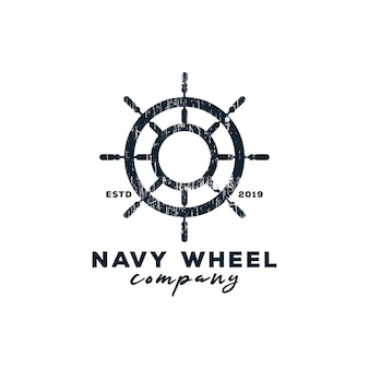 Navy wheel logo