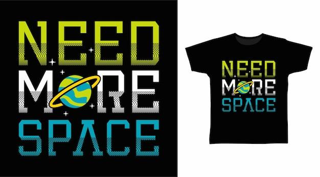 Нужна космическая типографика для дизайна футболки