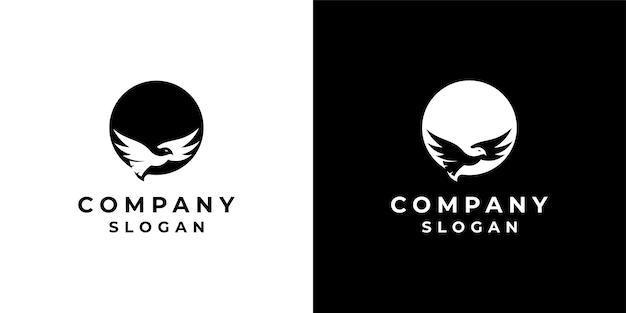 네거티브 공간 스타일의 새 디자인 로고
